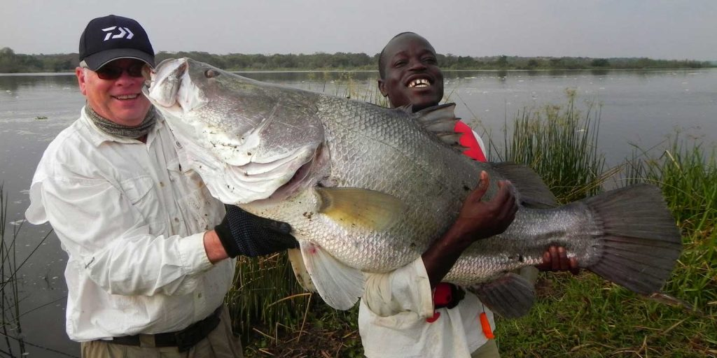 Fishing at Murchison Falls